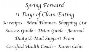 Spring Cleanse Info